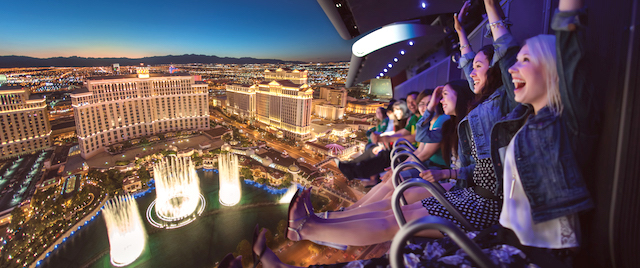 Las Vegas slated as the next market for a flying theater ride