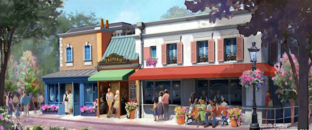 Epcot's France pavilion to get new crepes restaurant