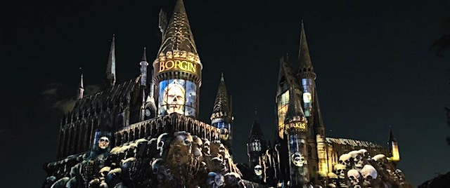 The Dark Arts rule in Universal's new Hogwarts Castle show