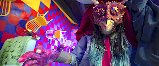 Trip into another dimension on Meow Wolf's first dark ride