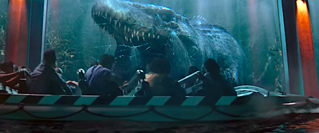 TV spot offers a first look at Universal's new Jurassic World ride