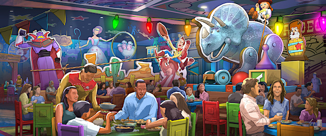 Disney World's Toy Story Land is getting a new restaurant