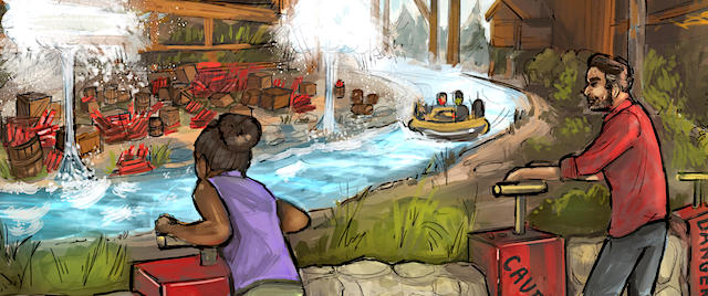 Knott's announces the opening date for Calico River Rapids