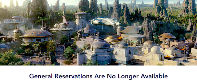 Star Wars fans snap up Disneyland's Galaxy's Edge reservations