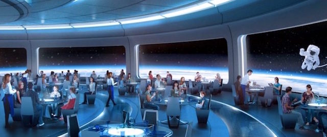 Epcot's new space-themed restaurant will open this year