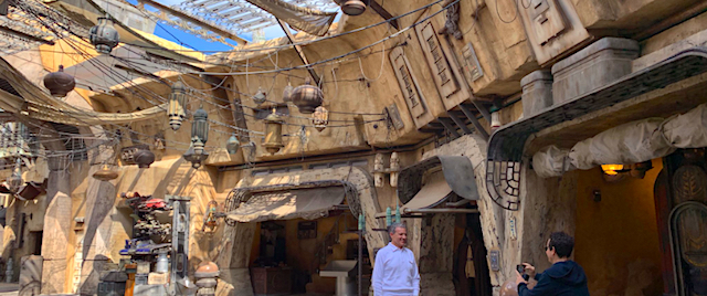 Disney's boss shows off new looks inside Star Wars: Galaxy's Edge