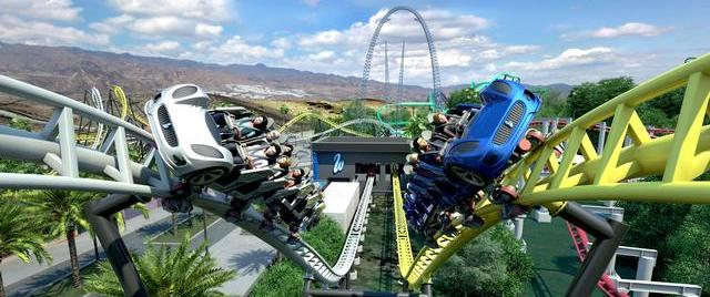 West Coast Racers finally goes vertical at Six Flags Magic Mountain