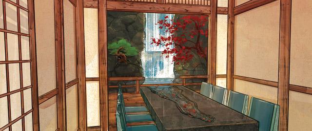 """Takumi-Tei """"title ="""" Takumi-Tei """"/> <br/><i> L'art conceptuel est une courtoisie de Disney </i></div><p> exploité par Mitsukoshi USA, qui exploite le reste du pavillon japonais d'Epcot, ainsi que Disney World, qui vient d'annoncer que son autre nouveau restaurant de table, le restaurant sur le thème de l'espace <a href="""