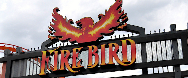 Firebird rises at Six Flags America