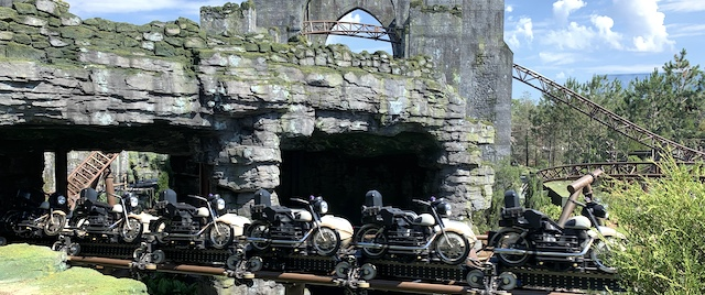 First look at Hagrid's Magical Creatures Motorbike Adventure