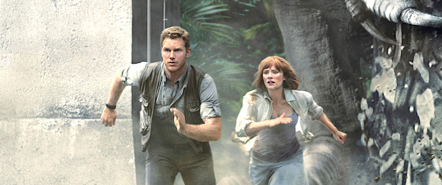 'Jurassic World' stars return for Universal Studios Hollywood's ride