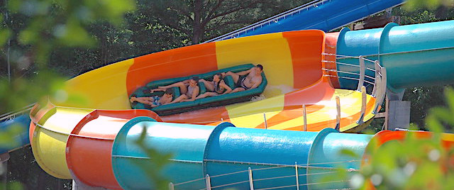 Let's slide into some tasty waves at Busch Gardens Williamsburg