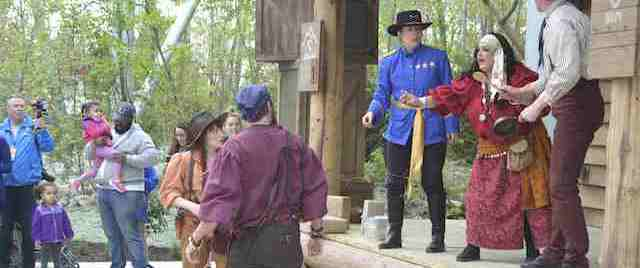 'Forbidden Frontier' brings role-playing interaction to Cedar Point