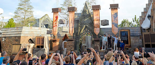 New Harry Potter coaster opens to 10-hour wait in Orlando