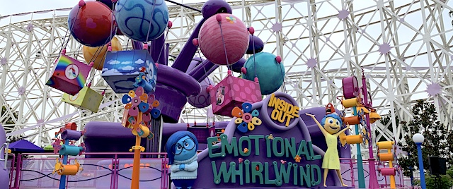 Disneyland takes Inside Out fans on an Emotional Whirlwind