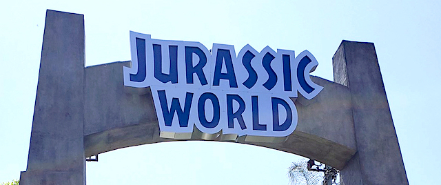 Jurassic World opens at Universal Studios Hollywood