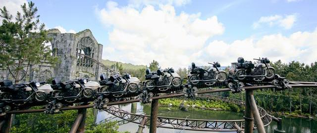 Universal Orlando switches ride times on its new Hagrid coaster