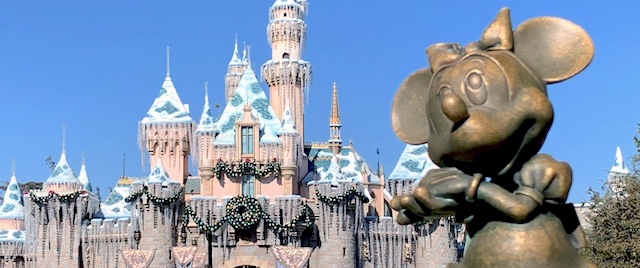 Who's dreaming of the Holidays at Disneyland?
