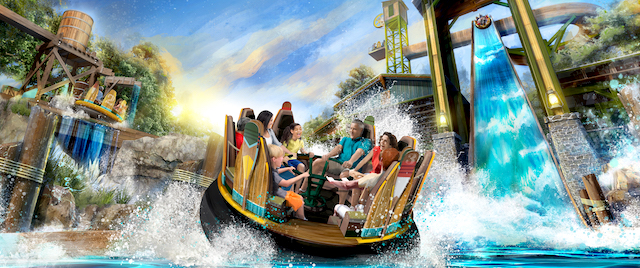 Silver Dollar City celebrates with a record-setting rapids ride