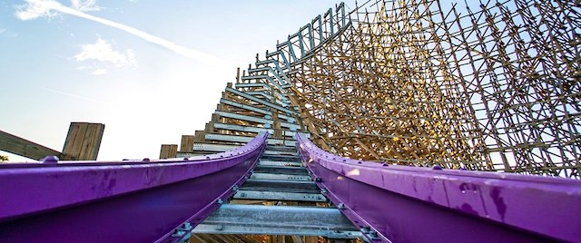 Busch Gardens lays first track for record-breaking coaster
