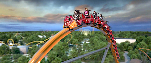 Six Flags announces its 2020 new ride line-up