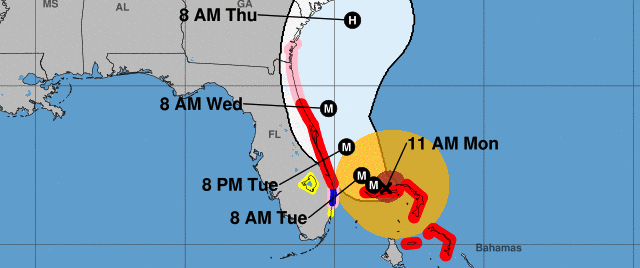 Will this hurricane close Disney and Universal or not?