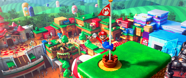 Universal's Super Nintendo World set to open next spring