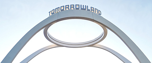 New Tomorrowland sign debuts at Walt Disney World