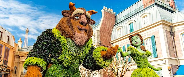 Walt Disney World fixe des dates pour prochain festival de fleurs et jardins