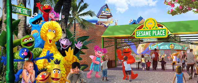 Aquatica San Diego to become a Sesame Street park
