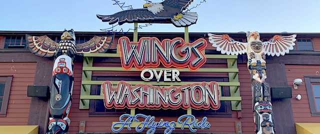 Wings Over Washington is a flying theater done right