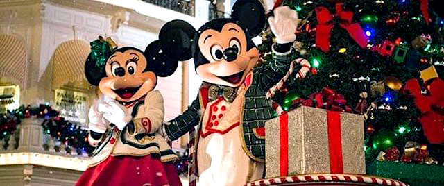 Are you ready for Christmas? America's theme parks are