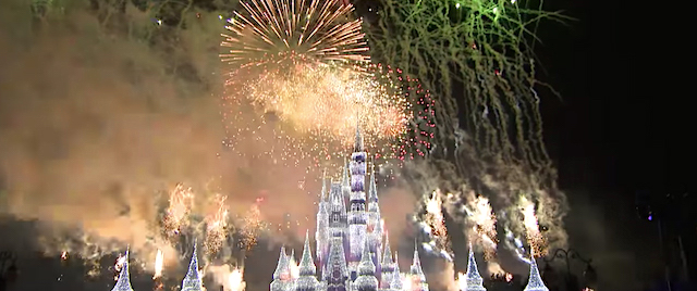 First look at Disney World's new holiday fireworks show