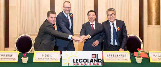 Merlin strikes deal for its 11th Legoland theme park