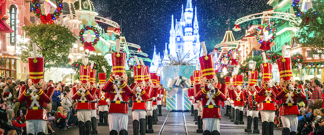 Walt Disney World welcomes the holidays
