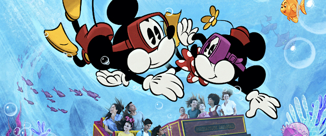 Disney offers a fresh look at its new Mickey Mouse ride