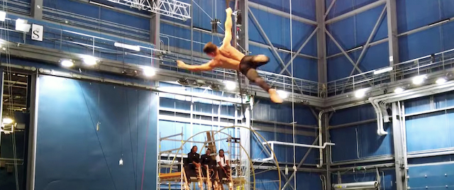 Disney shows off rehearsals for its new Cirque du Soleil show