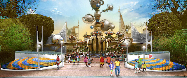 Disneyland reveals its new look for Tomorrowland