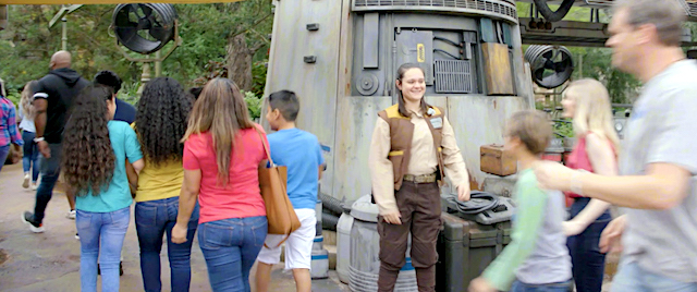 Fans crowd Hollywood Studios for Rise of Resistance opening