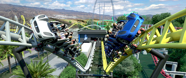 Six Flags' West Coast Racers is finally ready to race