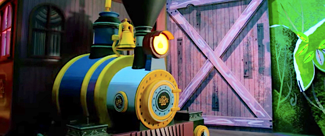 Disney offers another look inside its Runaway Railway