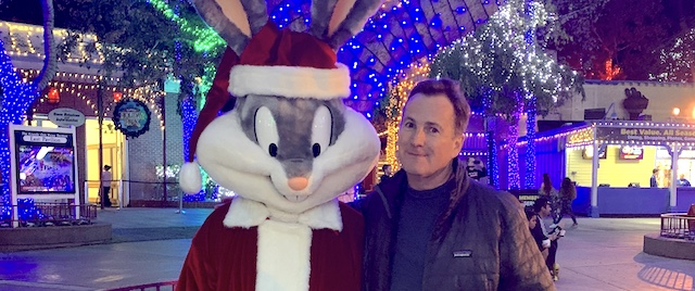 Six Flags Magic Mountain offers its taste of the holidays