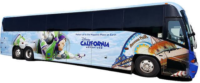 Say goodbye to the Disneyland Express bus service