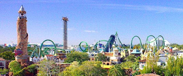 Ranking the world's best theme parks