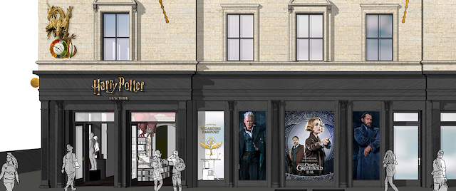 Harry Potter flagship store in New York
