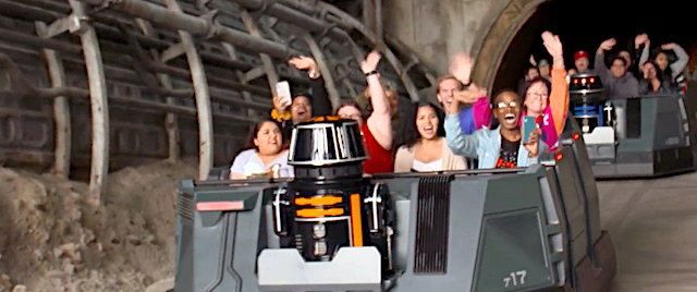 Disneyland cast members get first look at Rise of the Resistance