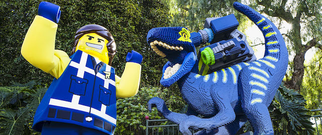 Rex and the Raptor move into The Lego Movie World