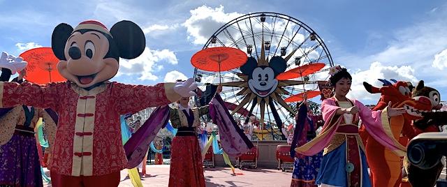 Lunar New Year kicks off festival season at California Adventure