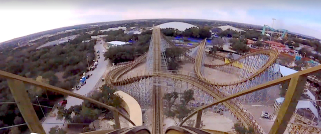 Watch the first full, on-ride POV video from Texas Stingray