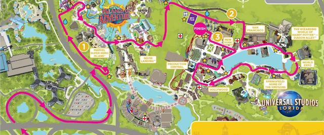 Race courses revealed for Universal Orlando's running weekend